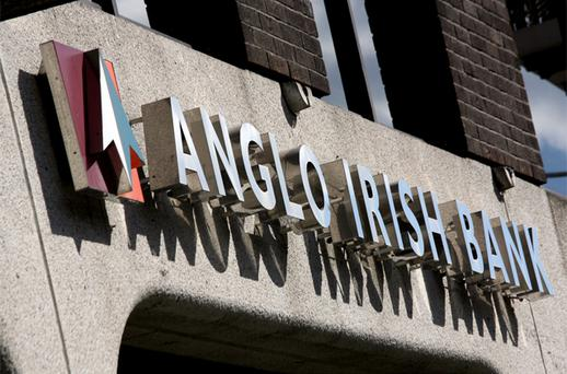 Anglo Irish Bank revealed at the end of August that €600m of its loans were given a zero value by NAMA, but the other banks bring the figure to €1.7bn. Photo: Bloomberg News