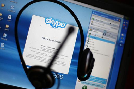 Skype has integrated its service into a specially adapted version of Facebook's news feed. Photo: Getty Images