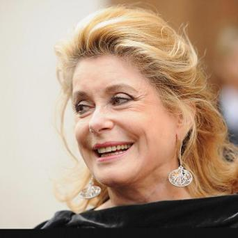 Catherine Deneuve is at the Toronto International Film Festival