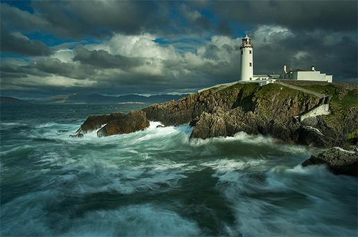 A photograph of Fanad Head Lighthouse by Andy McInroy which came first in the over 18s category in the 2010 An Taisce Clean Coast Photography Awards. Photo: PA