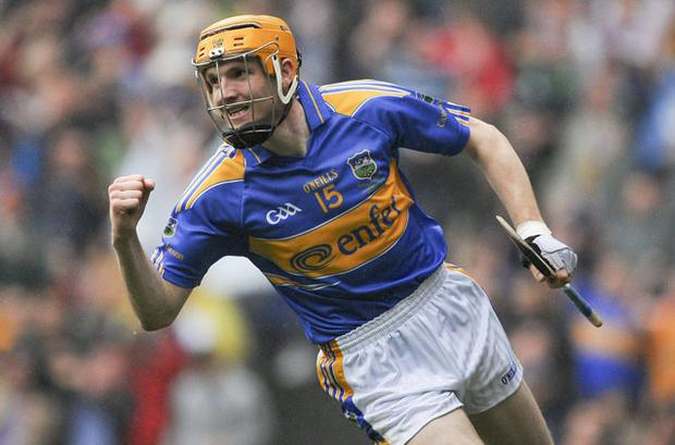 Lar Corbett crowned a brilliant year with a hat-trick in Tipperary's All-Ireland hurling final victory. Photo: Sportsfile.