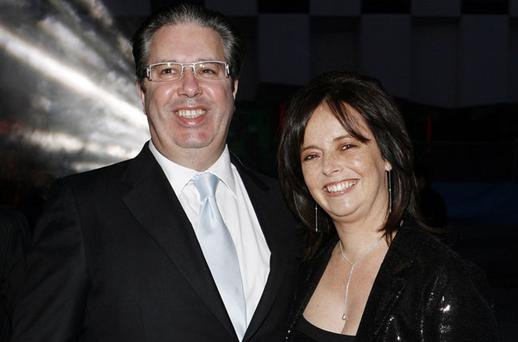 IRREPLACEABLE LOSS: Melanie Verwoerd, pictured with Gerry Ryan says she expected to have another 20 or 30 years with the RTE star. Photo: Arthur Carron