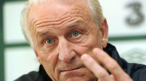 Trapattoni has behaved disgracefully. Photo: sportsfile
