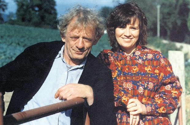 Miley and Biddy in 'Glenroe'.