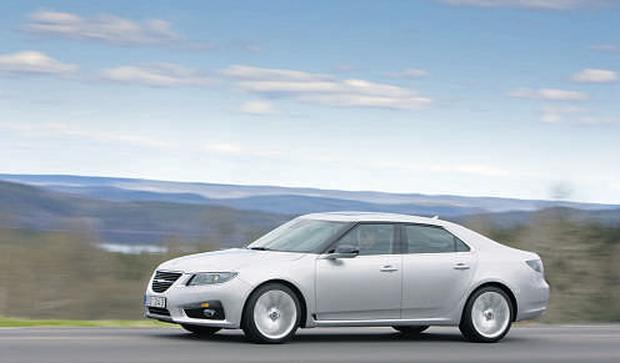 CRUISE CONTROL: The Saab 9-5 is at its best on the motorway