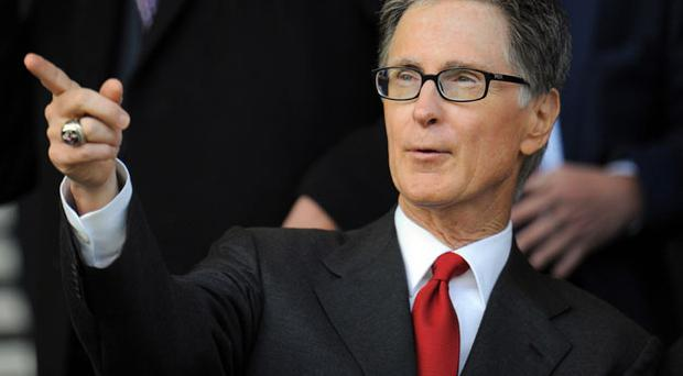Liverpool owner john Henry watched his side lose to Everton. Photo: Getty Images
