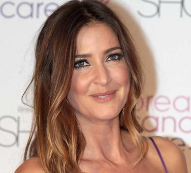 Model and TV presenter Lisa Snowdon