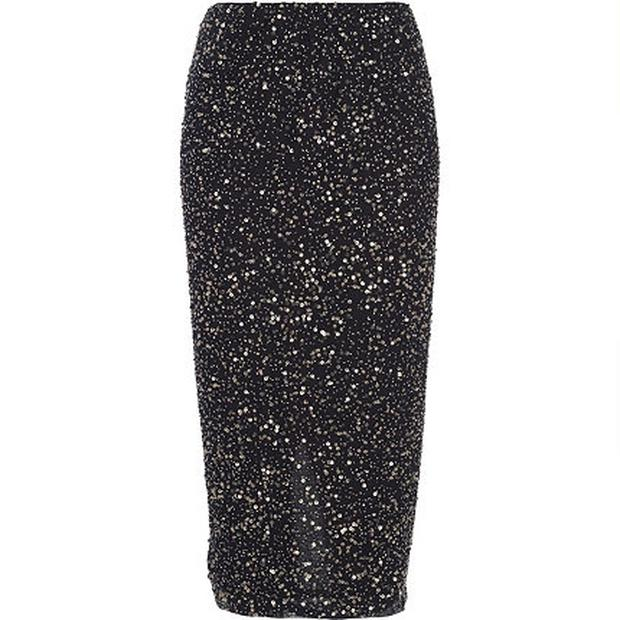 Maxi sequined skirt River Island €63