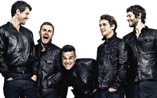 Take That were planning to call themselves The English. Photo: PA