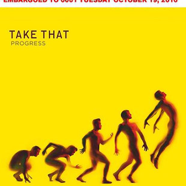 Take That's new album cover has been unveiled