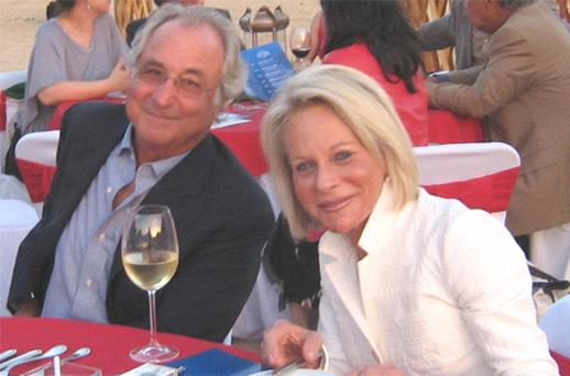 Bernard Madoff with his wife Ruth