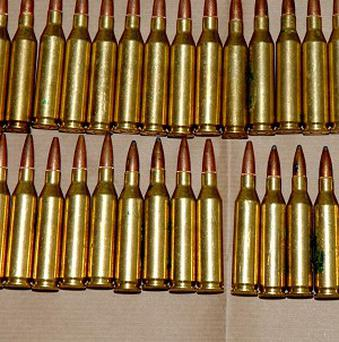 Bullets were among the unusual items donated to the PDSA this year