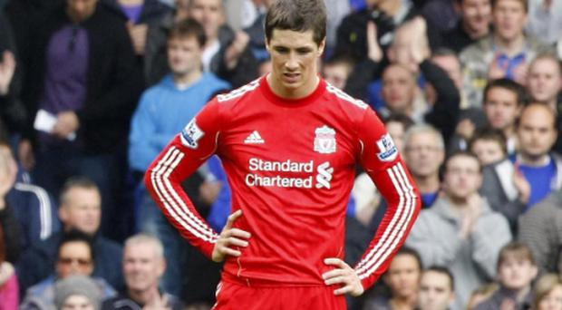 Roy Hodgson fears Manchester United could launch a bid for their star striker Fernando Torres. Photo: PA