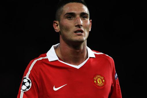 Federico Macheda. Photo: Getty Images