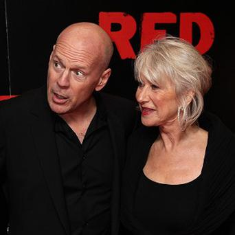 Dame Helen Mirren has revealed that she has a crush on her Red co-star Bruce Willis