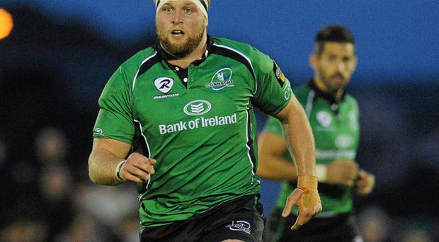 Connacht's South African born prop Brett Wilkinson is getting closer to earning an Ireland call-up.