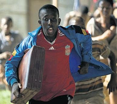 Roger Nsengiyumva has dreams of playing in the World Cup