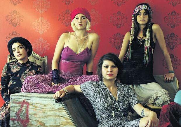 Four-piece Warpaint have an otherworldly quality
