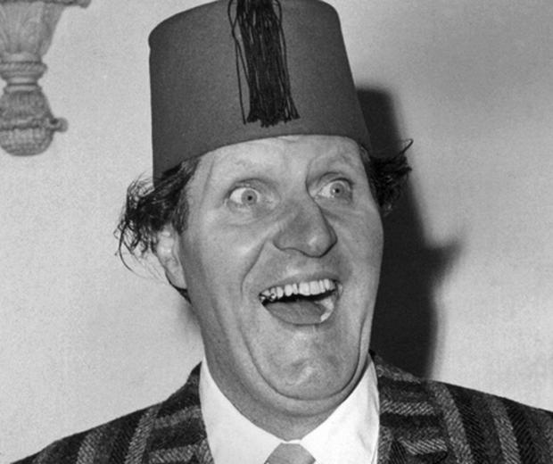 Tommy Cooper. Photo: Getty Images