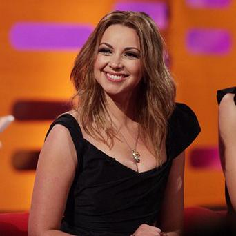 Singer and presenter Charlotte Church during a recording of The Graham Norton Show, to be transmitted on Friday