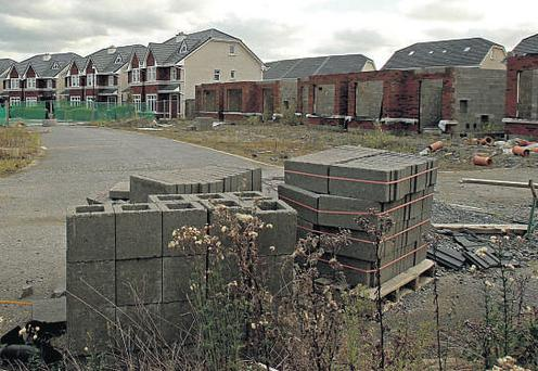 NO COUNTRY FOR YOUNG MEN: A new Department of the Environment report shows that there are 33,000 vacant or near completed homes around the country as well as a further 10,000 that are barely shells.