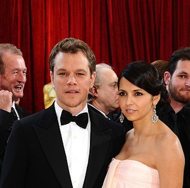 Matt Damon and his wife Luciana are celebrating the birth of a baby girl