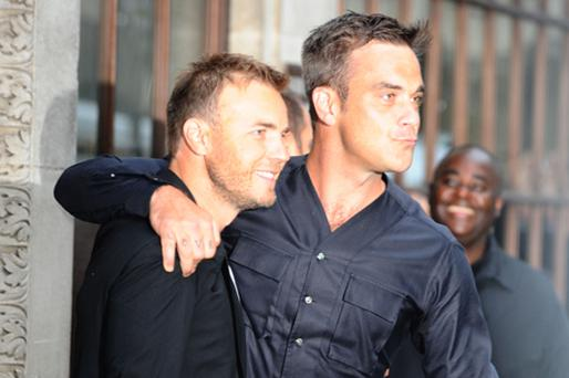 A reunited Take That picked up a Q award. Photo: PA