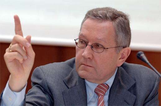 Klaus Regling: 'Europe has taken decisive action to tackle sovereign-debt issues'. Photo: Bloomberg News