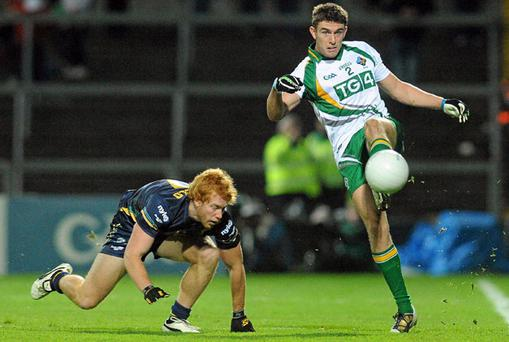 Ireland's Colm Begley in action against Todd Banfield of Australia during last Saturday's International Rules first Test.