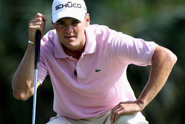 Germany's Martin Kaymer has the chance to replace Tiger Woods as world No 1 this weekend. Photo: Getty Images