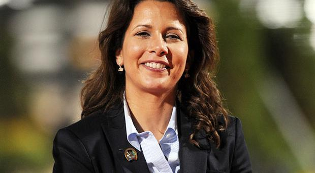 Current President Princess Haya of Jordan. Photo: Getty Images