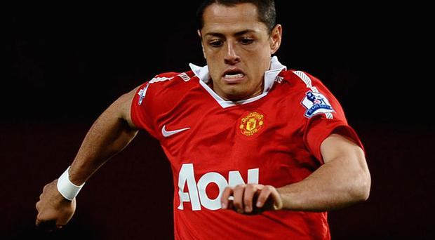 Javier Hernandez. Photo: Getty Images