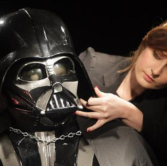 An original Darth Vader costume is expected to sell for up to £230,000 when it is put up for auction next month