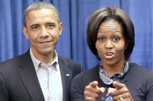 President Barack Obama, pictured with First Lady Michelle, faces a mid-term backlash at the polls