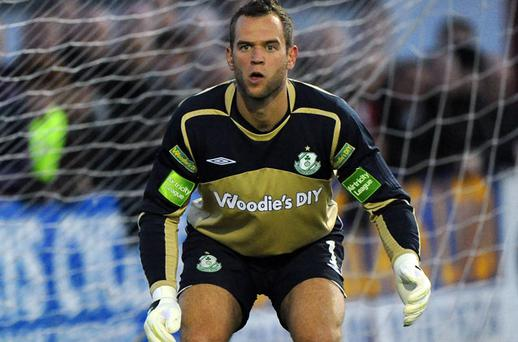 Goalkeeper Alan Mannus is surprised that his move to Shamrock Rovers seems to have harmed his international prospects.