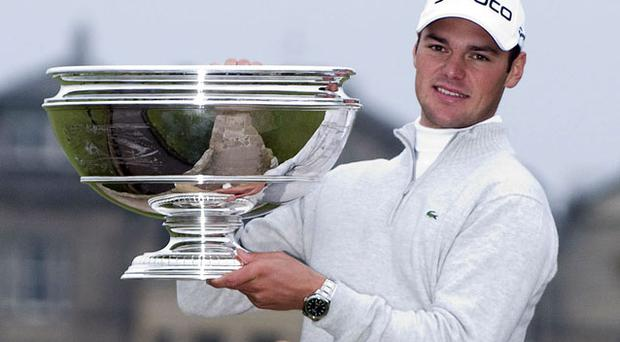 Martin Kaymer is one step away from the world No 1 spot after an unlikely journey. Photo: Getty Images