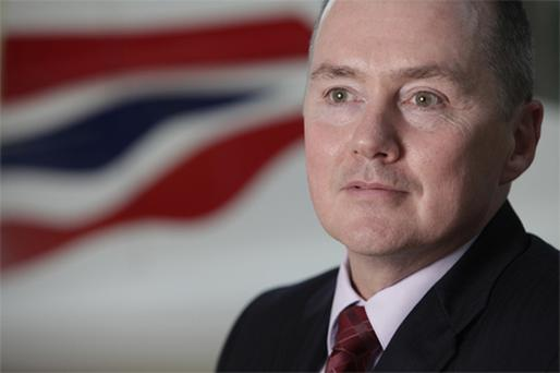 The BA chief's basic salary will increase by 12pc to £825,000 (€845,000). Photo: Bloomberg News