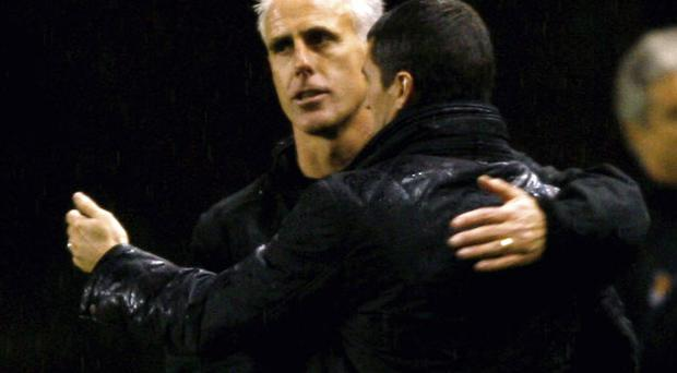 Roy Keane could benefit from following Mick McCarthy's pragmatic outlook on the game. Photo: Getty Images