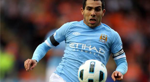 Carlos Tevez. Photo: Getty Images