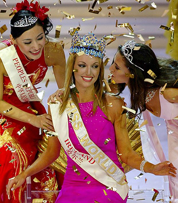 Rosanna Davison won the title representing Ireland in 2003. Photo: Reuters