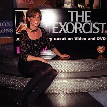 The ultimate horror movie would include an alien bursting from Linda Blair's chest