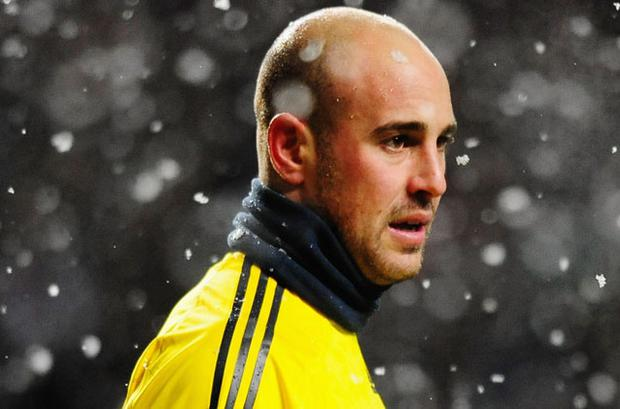 Pepe Reina has been linked with a move to Manchester United. Photo: Getty Images