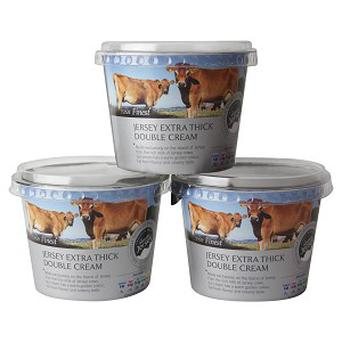 At present, any cream produced by Jersey cows anywhere in the world can be marketed as Jersey cream