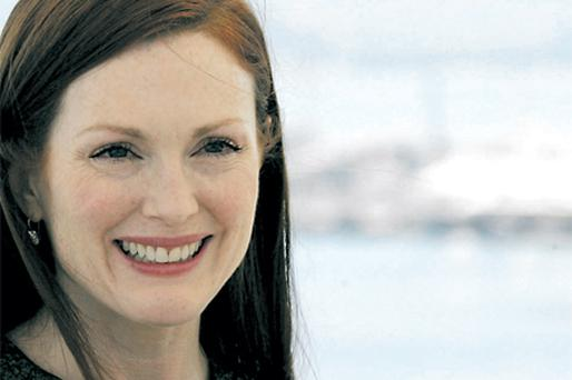 Julianne Moore is riding high on the Oscar buzz