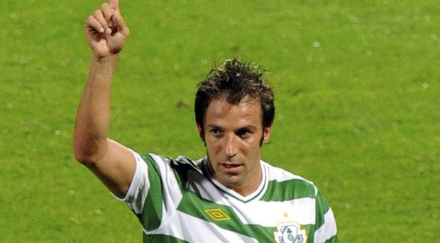 Rovers crossed swords with Juventus and Alessandro Del Piero in Europe. Photo: Reuters