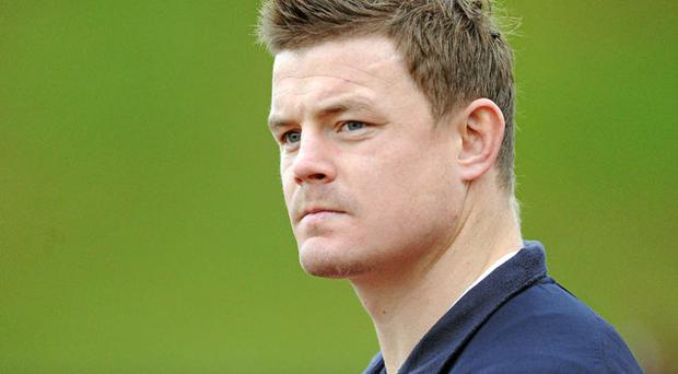 Brian O'Driscoll will play a vital role for Ireland in the next year. Photo: Brendan Moran / Sportsfile