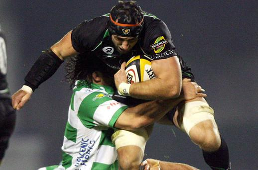 Connacht's John Muldoon in action against Treviso in the Magners League on Saturday. Photo: Daniele Resini / Sportsfile