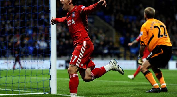 Maxi Rodriguez scored the winner for Liverpool. Photo: Getty Images