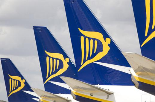reported a 17pc increase in underlying net profits to €451.9m for the six months to September 30. Photo: Bloomberg News