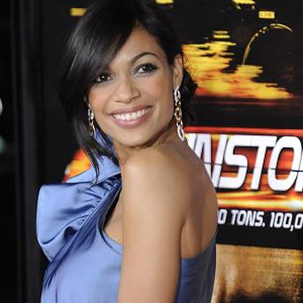 Rosario Dawson made the most of her own stunts